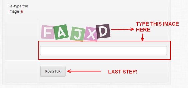 PROTYPERS / MEGATYPERS: Step by step Registration Procedures